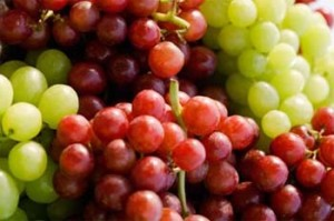 Red Green Seedless Grapes