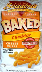Michael Season's Baked Cheddar Puffs
